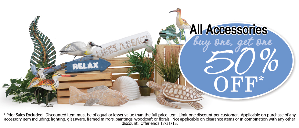 All Tropical Home Decor and Accessories are on Sale