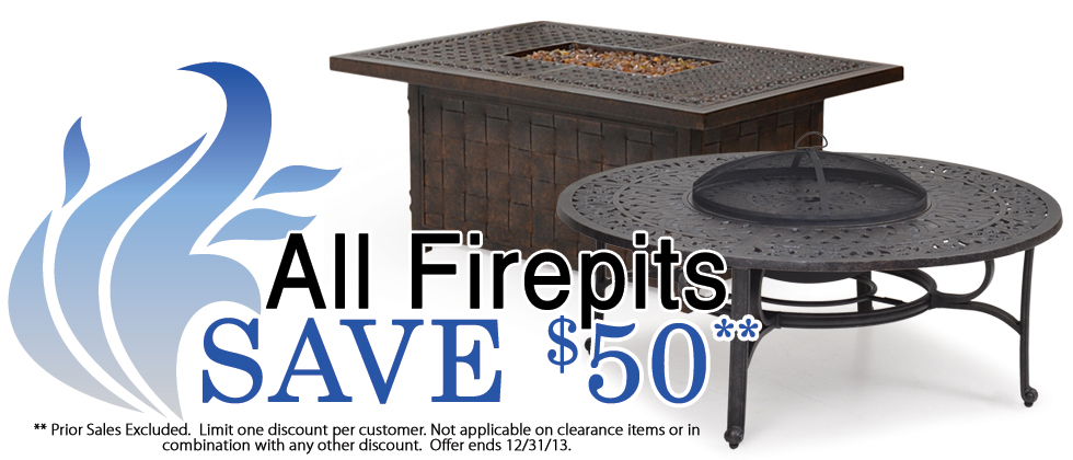 Fire Pits Are On Sale